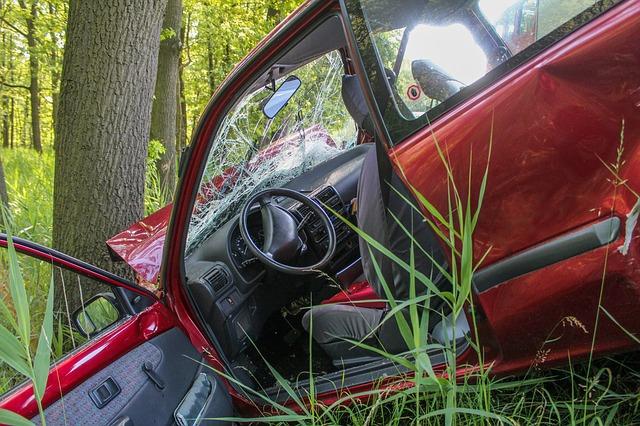 havárie o strom
