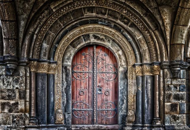 brána dveře