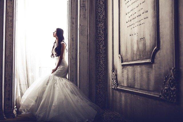 dlouhovlasá nevěsta